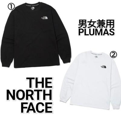THE NORTH FACE ノースフェイス PLUMAS ロンT 白 黒 メンズ レディース