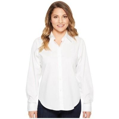 ラルフローレン シャツ トップス レディース Petite Cotton Poplin Shirt White