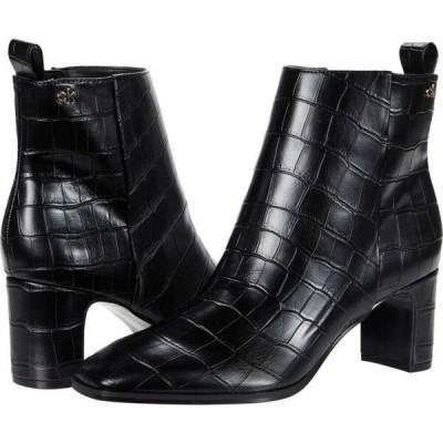 カルバンクライン Calvin Klein レディース ブーツ シューズ・靴 Deni Black Croco Embossed