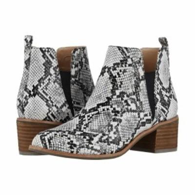 ドクター ショール Dr. Scholls レディース ブーツ シューズ・靴 Amara - Original Collection Black/White Snake Print Leather