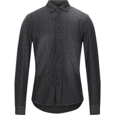 ハマキホ HAMAKI-HO メンズ シャツ デニム トップス Denim Shirt Black