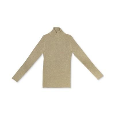 スタイルアンドコー ニット&セーター アウター レディース Metallic Turtleneck Sweater Gold Metallic