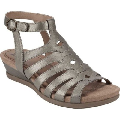 アースオリジン オックスフォード シューズ レディース Pippa Gladiator Sandal (Women's) Platinum Pearlized Pig Skin Leather
