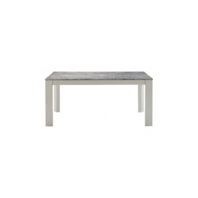 HOMEDAY ダイニングテーブル 大理石柄 DT-15-150 インテリア テーブル ダイニングテーブル