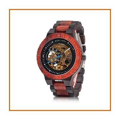 送料無料 BOBO BIRD メンズ 木製腕時計 高級機械式腕時計 軽量木製バンド