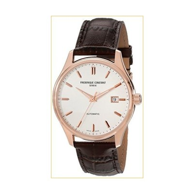 Frederique Constant Men's FC303V5B4 Index Analog Display Swiss Automatic Brown Watch 並行輸入品