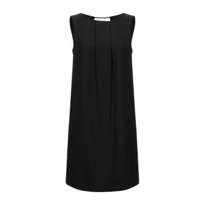 CAIPIRINHA ミニワンピース&ドレス ブラック M ポリエステル 80% / レーヨン 16% / ポリウレタン 4% ミニワンピース&ドレス