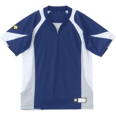 DESCENTE(デサント) 少年野球 半袖 ジュニアセカンダリーシャツ NVWH 150 JDB-113