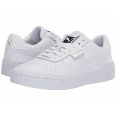 PUMA プーマ レディース 女性用 シューズ 靴 スニーカー 運動靴 Cali Puma White/Puma White【送料無料】