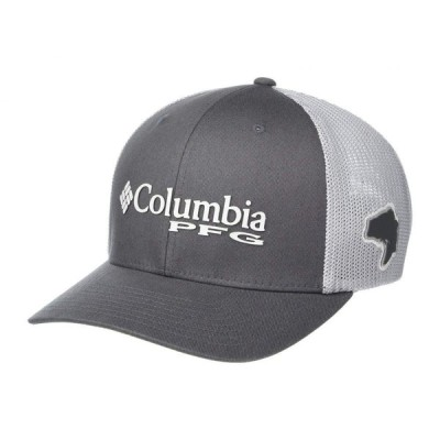 コロンビア Columbia メンズ キャップ 帽子 PFG Mesh(TM) Ball Cap Grill/Cool Grey/Bass