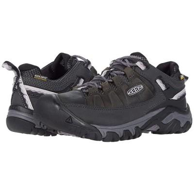 キーン Targhee III Waterproof レディース Hiking Black/Thistle