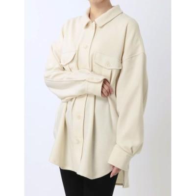【ラグナムーン/LAGUNAMOON】 オーバーサイズシャツ