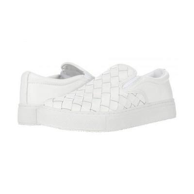 Marc Fisher LTD マークフィッシャーリミテッド レディース 女性用 シューズ 靴 スニーカー 運動靴 Calla - White Leather