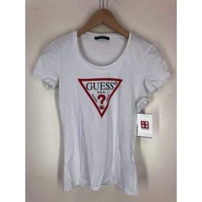 ゲスロサンゼルス GUESS los angeles UネックTシャツ サイズJPN:XS レディース 【中古】【ブランド古着バズストア】