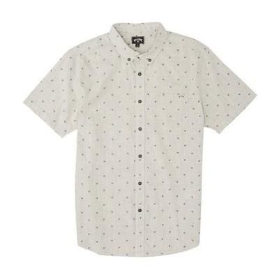 ビラボン メンズ シャツ トップス All Day Jacquard Short-Sleeve Shirt