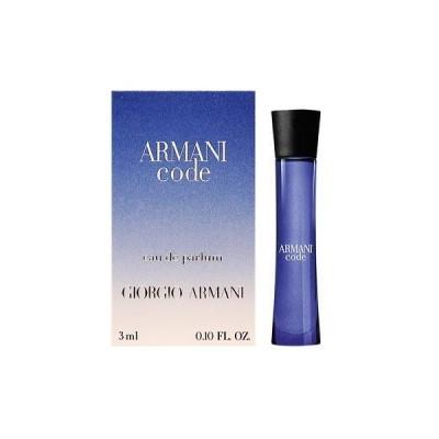 ジョルジオ アルマーニ GIORGIO ARMANI コード プールファム EDP 3ml ミニチュア 【ミニ香水】【あすつく】