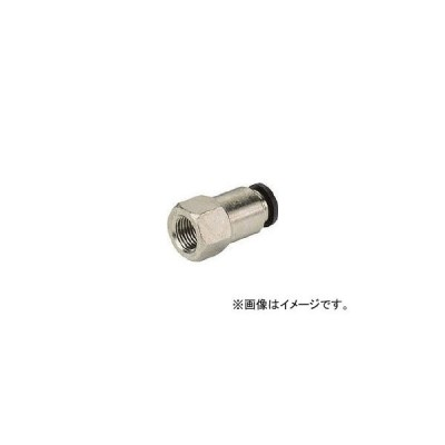 ピスコ チューブフィッティング メスストレート PCF6-M5(8095595)