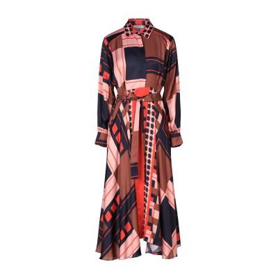 BEATRICE .b 7分丈ワンピース・ドレス ピンク 40 レーヨン 100% 7分丈ワンピース・ドレス