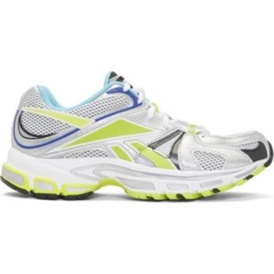 ヴェトモン VETEMENTS レディース スニーカー シューズ・靴 white reebok edition runner 200 sneakers White/Silver/Lime