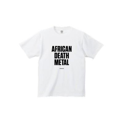 tシャツ Tシャツ UNGER by KLON AFRICAN DEATH METAL (MENS WHITE)