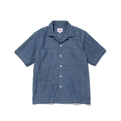 シャツ ブラウス 【Battenwear/バテンウェア】米国製ファイブポケットシャツ/Five Pocket Island Shirt