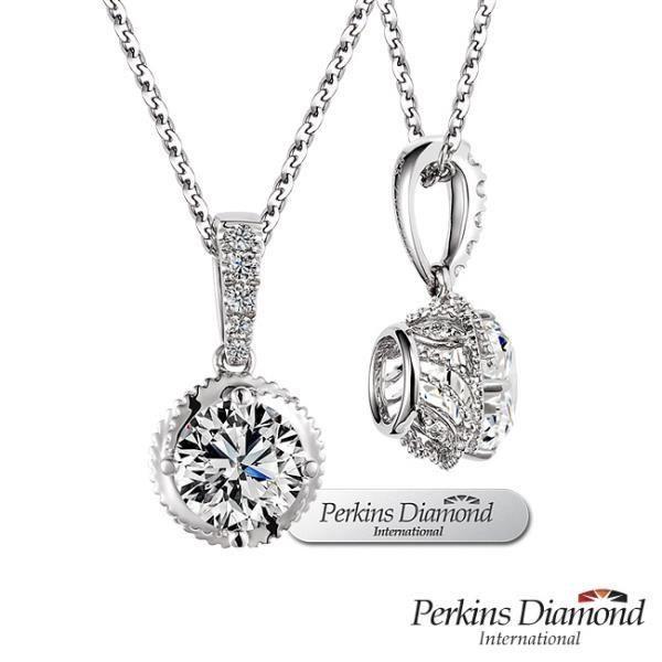 GIA PERKINS 伯金仕 Princess 系列 鑽石項鍊