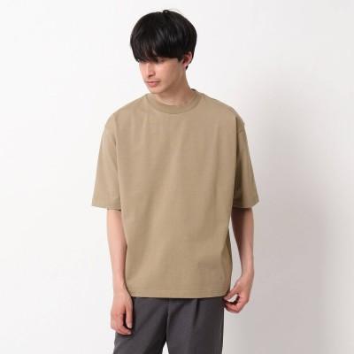 OPAQUE.CLIP (F36) コットン天竺Tシャツ (ベージュ)