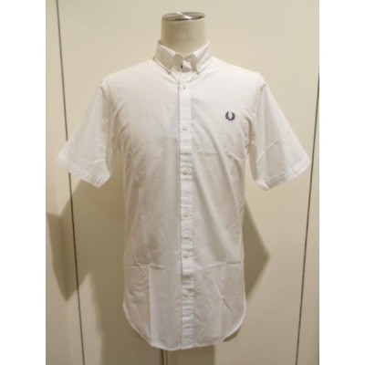 FRED PERRY(フレッドペリー) Short Sleeve End On End Shirt (M3284/100)