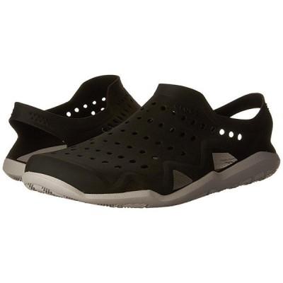 クロックス Swiftwater Wave メンズ スニーカー 靴 シューズ Black/Pearl White