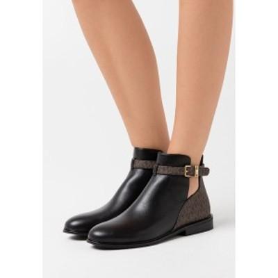 マイケルコース レディース ブーツ&レインブーツ シューズ LAWSON - Ankle boots - black/brown black/brown