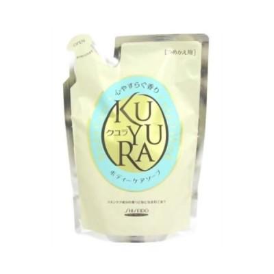 【お一人様1個限り特価】クユラ ボディケアソープ 心やすらぐ香り つめかえ用400ml