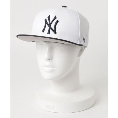 H.L.N.A / 【47Brand】Yankees Sure Shot Two Tone '47 CAPTAIN MEN 帽子 > キャップ