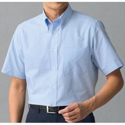 形態安定ボタンダウンYシャツ(半袖) 3L 4L 5L|1535-880689