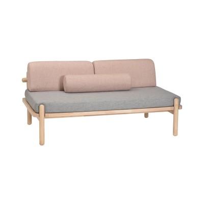 座面が広くゆったりくつろげるソファー<2人掛けワイド>