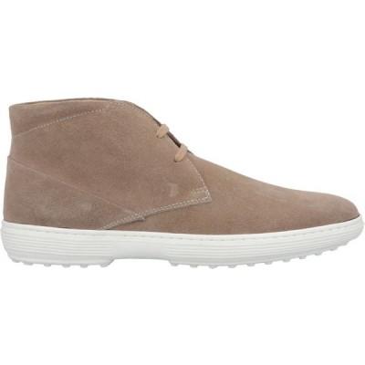 トッズ TOD'S メンズ ブーツ シューズ・靴 boots Light brown