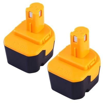RYOBI b-1203f2 Ryobi b-1203m1 リョービ 12V 3.0Ah互換バッテリー「二個セット」 B-1203M B-1203F2 B-1203T電池パック対応 B-1203C B-1203M1 B-1203F3 BPL-1220