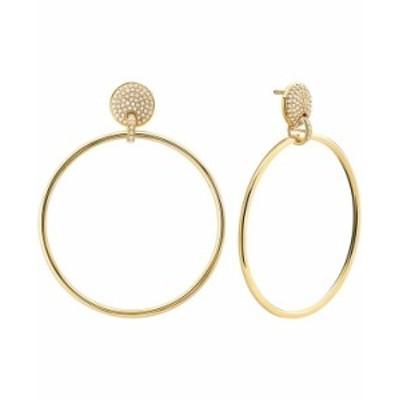 マイケルコース レディース ピアス・イヤリング アクセサリー 14k Gold-Plated Sterling Silver Mercer Medium Link Door Knocker Earrin
