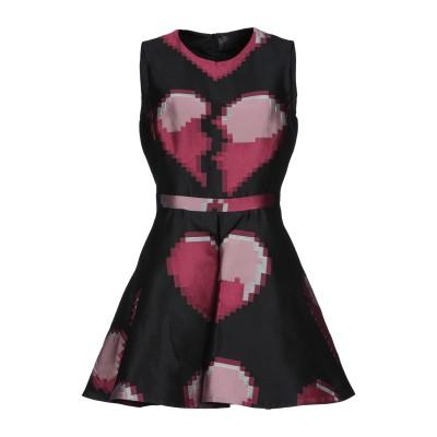 PHILIPP PLEIN ミニワンピース&ドレス ブラック M ポリエステル 100% ミニワンピース&ドレス