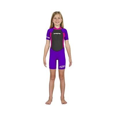 Hyperflex Purple/Pink Access Series Wetsuit Size 2 Full Suit