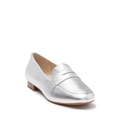 コールハーン レディース サンダル シューズ The Go-To Pearson Loafer SOFT SILVER METALLIC LEATHER