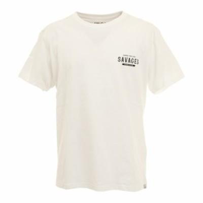 ロアークリバイバル(ROARK REVIVAL)SAVAGES 半袖Tシャツ RTJD521-WHT(Men's)