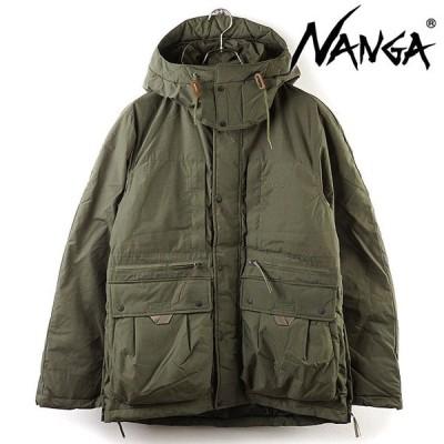 ナンガ NANGA メンズ タキビダウンジャケット TAKIBI DOWN JACKET  FW20 アウトドア キャンプ アウター フーデッド KHAKI カーキ系