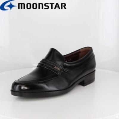 ≪アウトレット・セール≫ 送料無料 ムーンスター メンズ ビジネスシューズ 靴 MB1244 クロ 国産 本革 コンフォートレザーシューズ