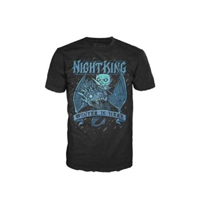 Tシャツ ゲームオブスローンズ Funko Game Of Thrones - Kings Ice Dragon Adult T Shirt