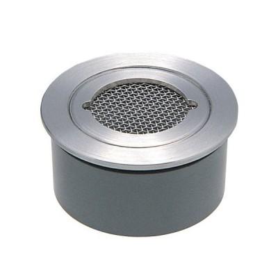 カクダイ 4247-40 VP VU兼用ステンレス防虫目皿 (接着式)