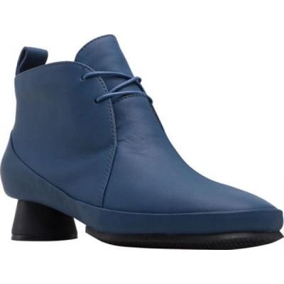 カンペール Camper レディース ブーツ レースアップ シューズ・靴 Alright Lace Up Bootie Blue Calfskin