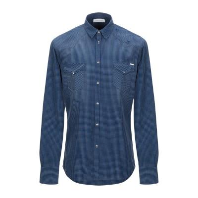 アリーニ AGLINI シャツ ブルー 41 コットン 100% シャツ