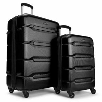 イーバッグス eBags ユニセックス スーツケース・キャリーバッグ バッグ velas 2pc luggage set Black