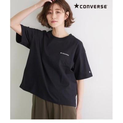 【CONVERSE】ロゴシシュウTシャツ