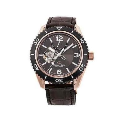オリエント 腕時計 Orient Star オリエントスター RE-AT0103Y00B Mechanical Open Heart Brown Leather Strap メンズ Watch